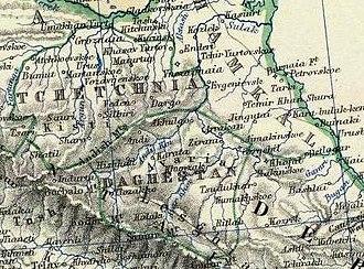 Alexander Keith Johnston (1804–1871) - Johnston, Alexander Keith: Turkey in Asia, Transcaucasia. 1861