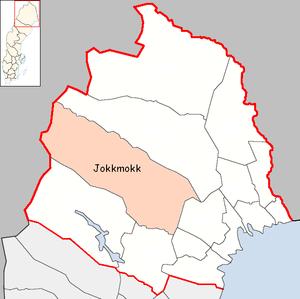Jokkmokk Municipality - Image: Jokkmokk Municipality in Norrbotten County