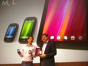 WebOS - HP executives demonstrating webOS devices in 2011