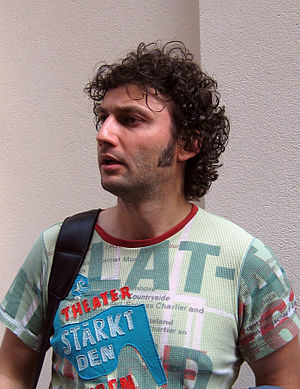 English: German opera singer Jonas Kaufmann ph...