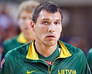 Jonas Mačiulis - Mačiulis with Lithuania in 2013