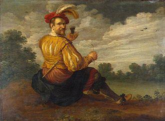 Joost Cornelisz Droochsloot - Selfportrait, 1627