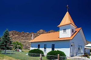Jordan Valley, Oregon - The Jordan Valley Methodist Church