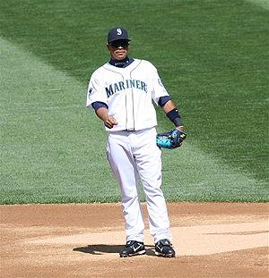 José López (baseball) - López playing the Seattle Mariners in 2007.