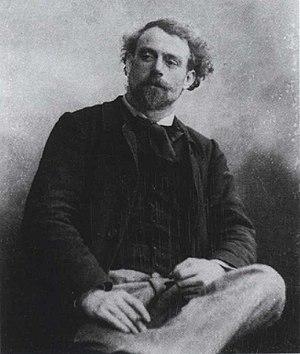 Joseph Delattre - The artist c.1880