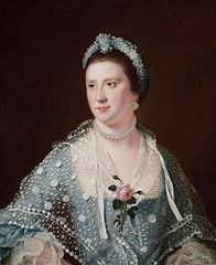 Portrait of the Hon Mrs Boyle