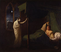 Joseph Wright of Derby - William and Margaret from Percy's 'Reliques of Ancient English Poetry' - Google Art Project.jpg