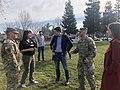 Josh Harder with service men and women in Turlock, California 01.jpg