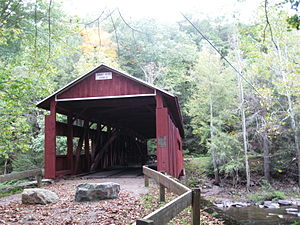 Josiah Hess Covered Bridge No. 122 - The bridge in September 2012