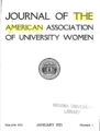 Journal of the American Association of University Women - 01-1923 cover.png