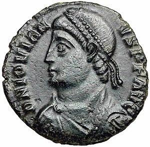 Jovian (emperor) - Solidus of emperor Jovian
