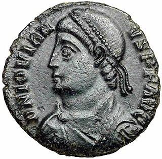 Jovian (emperor) 4th-century Roman Emperor