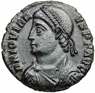 History of Belgrade - Emperor Jovian, born in Singidunum.