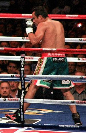 Juan Manuel Márquez - Márquez vs Mayweather Jr., 2009