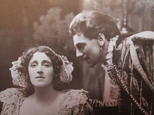 Albert Edward Anson - Julia Neilson and Anson in Henry of Navarre