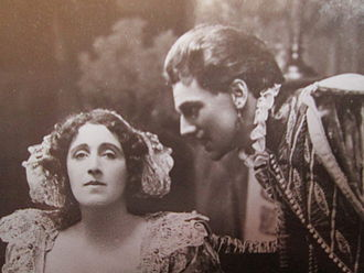 Albert Edward Anson - Julia Neilson and Anson in Henry of Navarre