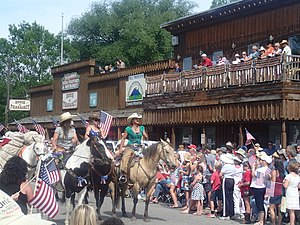 Ennis, Montana - Ennis 4th of July parade 2014