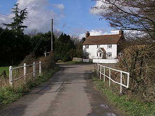 Nursling village in Hampshire, England