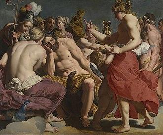 Abraham Janssens - Jupiter rebuked by Venus