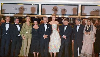 Cristian Mungiu - Mungiu (third from right) as a member of the feature film jury at Cannes