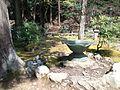 Kôzan-ji Buddhist Temple - Kaizan-dô - Flower basin.jpg