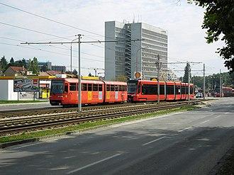 Škoda 29 T - Image: K2S (7134) a 29 T (7412)