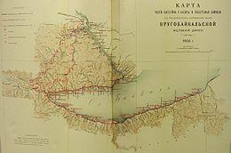 Кругобайкальская железная дорога схема