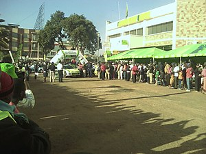 KCB Safari Rally Flag off 2016