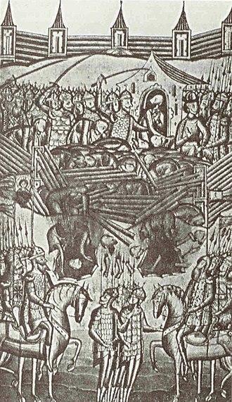 Siege of Kiev (1240) - Image: KIEV1240