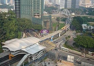 Bukit Nanas - Bukit Nanas station