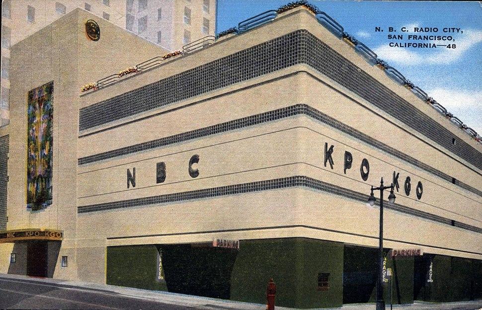KPO and KGO Radio San Francisco circa 1940s
