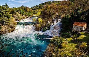 KRKA juga - KRKA Waterfall (2)