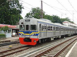 Tokyo Metro 5000 series - 5000 series train in Jakarta
