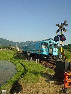 Miyazu Line railway line in Kyoto prefecture, Japan