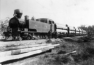2-8-4 - WAGR K class 2-8-4T, c. 1902