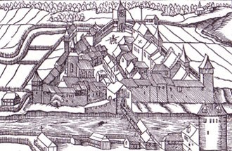 Kaiserstuhl, Aargau - Kaiserstuhl in 1548