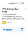 Kamer van Koophandel (KVK) Coronaloket advertisement (April 2020).png
