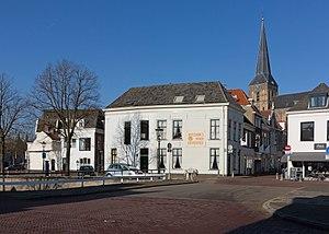 Bovenkerk, Kampen - Image: Kampen, toren van de Bovenkerk RM23053 vanaf Vloeddijk Venestraat foto 8 2016 02 17 11.49