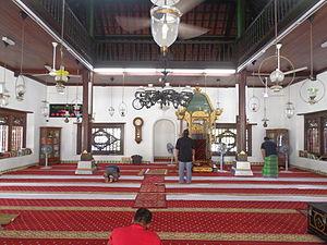 Kampung Hulu Mosque - Kampung Hulu Mosque prayer hall