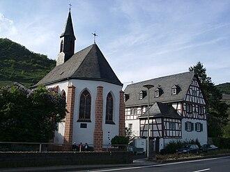 Treis-Karden - Karden, Moselstraße 33: Evangelical church (Georgskapelle)