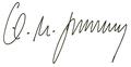 Karl-Theodor zu Guttenberg - Unterschrift 2010.png