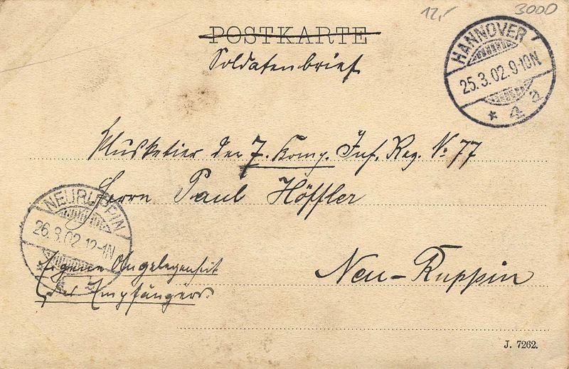 File:Karl F. Wunder PC 0837 B. Hannover. Georgstrasse mit Passage. Adressseite.jpg