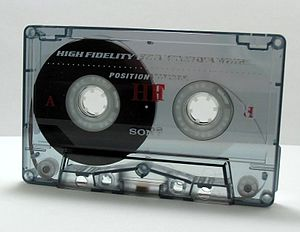 Magnetic tape - Compact Cassette