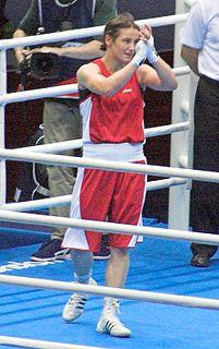 Katie Taylor Irish boxer and association footballer