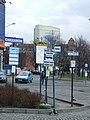 Katowice, Plac Wilhelma Szewczyka, autobusové zastávky.JPG