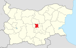Kazanlak Municipality Within Bulgaria.png