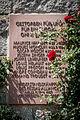 Kehl pont du Rhin Réseau Alliance plaque commémorative.jpg