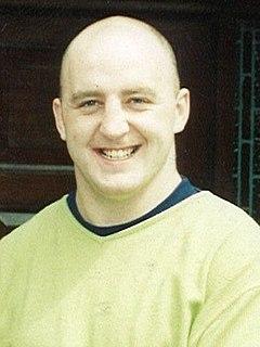 Keith Wood Irish rugby union player