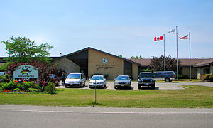 Chippewas of Kettle and Stony Point First Nation - Administration building