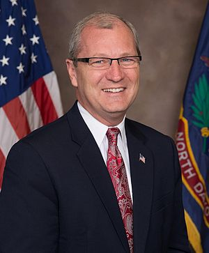 Kevin Cramer - Cramer's first official photo